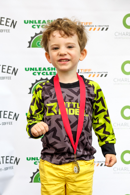 Owen on the podium